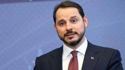Berat Albayrak'ın istifası kabul edildi.
