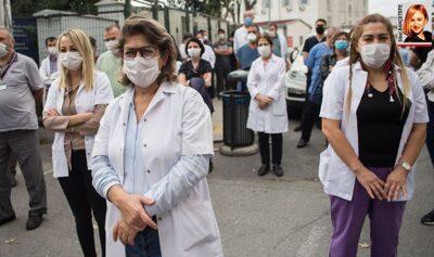 Sağlık çalışanları borçlu ve mutsuz