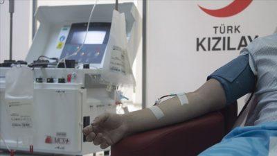 Kısıtlamalarda bile kan bağışı yapıldı