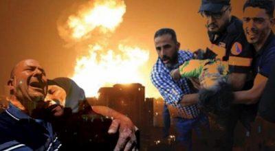 Zehirli gazla katliam Gazze'ye kara operasyon