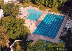 Havuzlu bataktan havuzlu parka