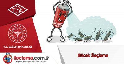 İstanbul Anadolu Yakası Böcek İlaçlama