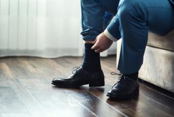 Erkeklerin Tercihi Bambu Ve Merserize Çorap